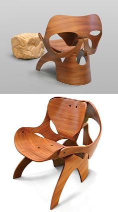 Skull Chair by Vladi Rapaport✖️Chairs ➕More Pins Like This At FOSTERGINGER @ Pinterest ➖