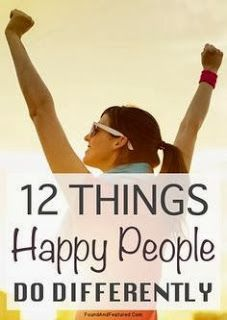 Happy people live better
