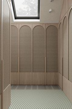 Wardrobe Door Designs, Wardrobe Doors, Closet Designs, Closet Doors, Interior Walls, Home Interior Design, Interior Architecture, Design Apartment, Cabinet Design