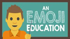 An Emoji Education with Tony Vincent cartoon Test the sites first on your school network to make sure accessible. Visual Literacy, First Site, Writing Process, Student Engagement, Vocabulary, Classroom, Teacher, Technology, Cartoon