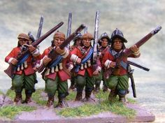 Yet More Warlord Games Plastic Renaissance Figures