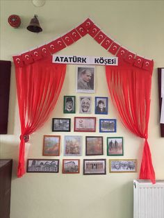 Atatürk köşesi okul öncesi Classroom Design, School Projects, Interior Design Living Room, Creative Art, Crafts For Kids, Preschool, Education, School School, Diy