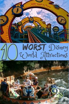 While Disney World is home to some of the best attractions in the world, not all rides are created equally. Most guests find these 10 attractions to be just the worst!