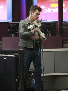 Jonathan Rhys Meyers #jonathanrhysmeyers #jrm leaving LAX airport Dec 03 2015 new puppy Toccla