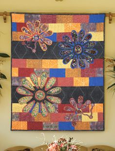 Corroboree by Diane Arganbright (from Quilt Trends Magazine Spring 2014 issue)