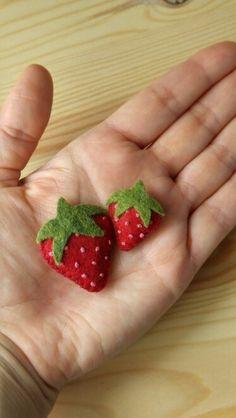Fresas de fieltro