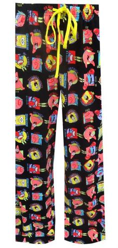 Nickelodeon SpongeBob Characters Lounge Pants