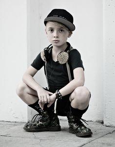 Microfashion: Baby Beast. Styling & photo credit: Pop Street Kidz. Shop the look at shopbabybeast.com!