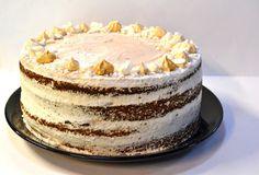 Bolo de Castanhas e Suspiros || Chestnut-Meringues Cake