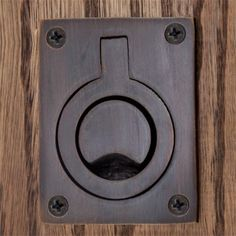 Rectangular Recessed Pull with Flush Ring Pocket Door Pulls  $10.95 ea.