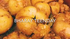 Bharay teenday - YouTube Desi Food, Baby In Pumpkin, Make It Yourself, Traditional, Ethnic Recipes, Youtube, Youtubers, Youtube Movies