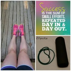 This mornings run turned into PT exercises and foam rolling. My legs were TIRED! But I still have 5k to run tonight after Lilly's soccer practice/Hilarys running around practice. Gonna be a late night #treadmill run. #motherrunner #foamroller #travelroller #halfmarathontraining #PTexercises #onedayatatime by pipersrun