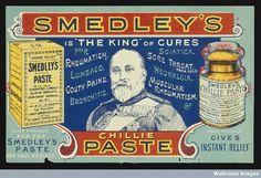 Smedley's Chillie Paste, 1901