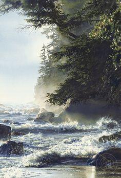 Фантастическая глубина цвета в картинах канадской художницы Carol Evans - Ярмарка Мастеров - ручная работа, handmade