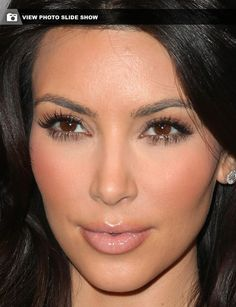 No plastic surgery, Kim Kardashian insists - In Your Face : The Orange County Register