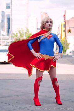 My Supergirl Cosplay  Photo by Ron Gejon Facebook.com/Inochii