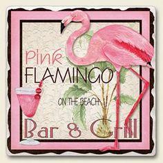 Flamingo sign