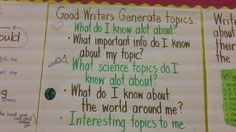 generating topics for non-fiction writing