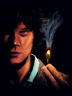 Congratulations, Here's your prize for winning the Gif-a-Thon - Witch! Buy here! Supernatural Fan Art, Supernatural Seasons, Spn Memes, Sam Winchester, True Beauty, Drawing Reference, Witch, My Arts, Fandoms