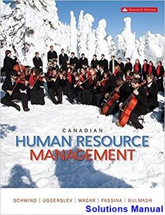 50 best solutions manual download images on pinterest in 2018 canadian human resource management canadian 11th edition schwind solutions manual test bank solutions manual fandeluxe Images