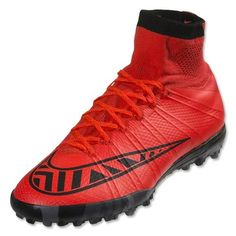 new concept af412 a6f86 Nike Men s MercurialX Proximo Turf Soccer Shoes Bright Crimson Black Bright  Crimson Nike Soccer