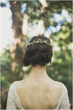simple wedding hair | ronel kruger photography