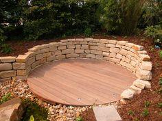 Natursteinmauer Kalkstein - Bilder und Fotos