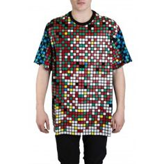 Beethoven Pixel Plastisol Print Tshirt