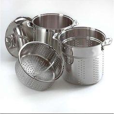 All Clad SS Mutli Cooker Set