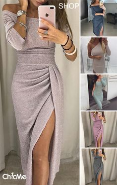 Best Party Dresses dress neck designs latest evening dresses party wear gown with price Night Outfits, Dress Outfits, Fashion Dresses, Fashion Shoes, Outfit Night, Fashion Night, Look Fashion, Bling Dress, Dress Neck Designs