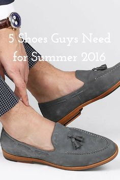 5 Summer Shoes Trends. #MensFashion