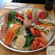 Union Sushi in Flushing N.Y Sushi & Sashimi Party Platter (Medium) $55