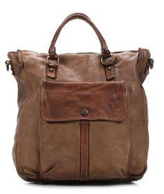 wardow.com - #Campomaggi, Colour Shopper Leder beige 36 cm