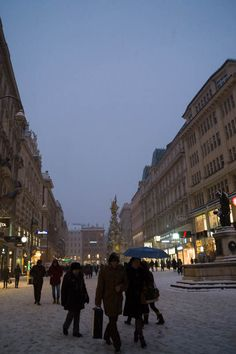 Snowing in Vienna, A
