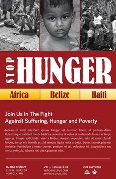 sample of leaflet for charity