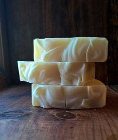 Coconut Cream Unscented Soap: vegan soap Palm by BubbleandFlameNH
