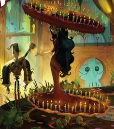 The Book of Life Movie   I freakn LOVE Day of the Dead and Can't wait to see this animated movie!!!!! <3