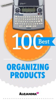 100 Best Organizing Products from ... | Home Organizing Ideas