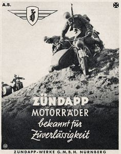 Zundapp motorcycles known for reliability