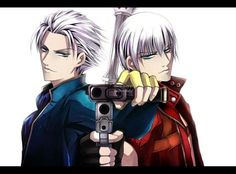 Done by snowlady7 on deviantart. Brothers Dante and Vergil