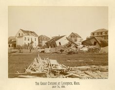 Great Cyclone at Lawrence MA 1890