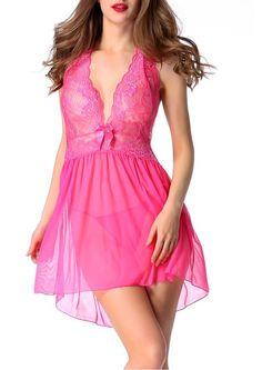 Avidlove Damen Nachtkleid Bodydoll Unterwäsche Reizwäsche Lingerie mit G String Dessous Erotik Set: Amazon.de: Bekleidung