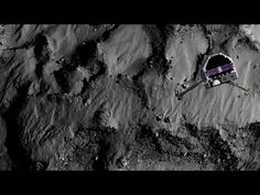 Philae's descent: closing in on the landing site - YouTube