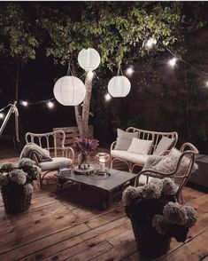 Terrace decor