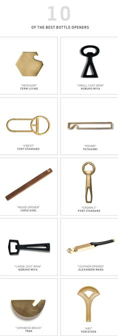 Dress Up Your Bar with our Top 10 Bottle Openers