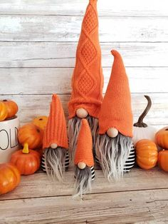 Fall halloween crafts - Halloween Gnomes Faux fur home decor Modern farm house felt gnome Shelf sitter Fall home decor – Fall halloween crafts Fall Crafts, Holiday Crafts, Holiday Fun, Diy And Crafts, Fall Halloween, Halloween Crafts, Halloween Decorations, Fall Home Decor, Autumn Home