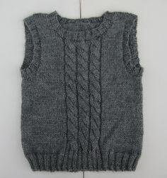 Uld, Knitting, Sweaters, Fashion, Knit Vest, Tricot, Knitted Baby, Crossstitch, Jacket