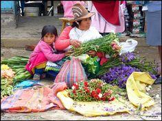 Flower market, Caraz-Peru - onakatani's Photoblog