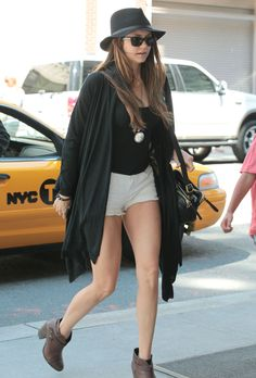 NINA DOBREV LEGS PHOTOS | Go Back To: From New York City, It's The Nina Dobrev Leg Show