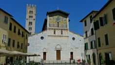 Basílica de San Frediano, Lucca, Toscana, Italia